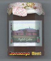 Kyffhäuser Apfel-Gelee Fruchtaufstrich, 6 glasses