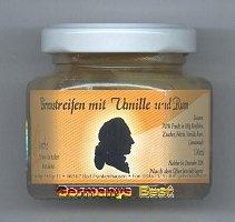 Goethe Birnenstreifen mit Vanille und Rum, 6 glasses