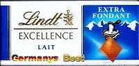 Lindt Excellence Lait -Extra Fondant-