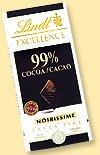 Lindt Excellence 99% Cacao