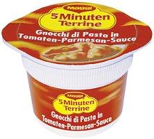 Maggi 5Minuten Terrine Gnocchi in Tomaten-Parmesan-Sauce