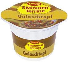 Maggi 5Minuten Terrine Gulaschtopf