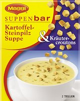 Maggi Suppenbar Kartoffel-Steinpilz Suppe