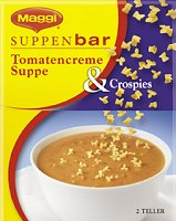 Maggi Suppenbar Tomatencreme Suppe & Crospies