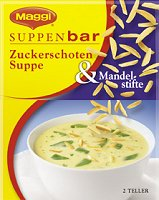 Maggi Suppenbar Zuckerschoten Suppe