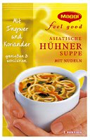 Maggi Feel Good Instant Hühnersuppe mit Nudeln