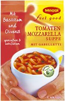 Maggi Feel Good Instant Tomaten Mozzarella Suppe