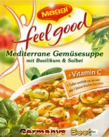 Maggi Feel Good Mediterrane Gemüsesuppe