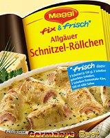Maggi Fix Allgäuer Schnitzel-Röllchen