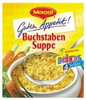 Maggi GutenAppetit Buchstaben Suppe