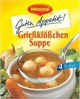 Maggi GutenAppetit Grießklößchen Suppe