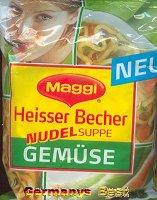 Maggi Heisser Becher Nudelsuppe Gemuese