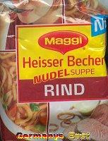 Maggi Heisser Becher Nudelsuppe Rind