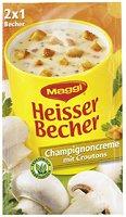 Maggi Heisser Becher Champignoncreme mit Croutons