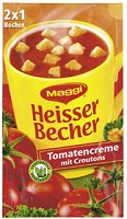 Maggi Heisser Becher Tomatencreme mit Croutons
