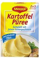 Maggi Kartoffel-Püree komplett mit feinem Buttergeschmack