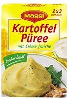 Maggi Kartoffel-Püree mit Crème fraîche