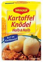 Maggi Kartoffelknödel Halb & Halb im Kochbeutel