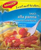 Maggi Lust auf Sueden Sauce Alla Panna