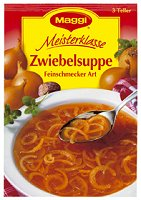 Maggi Meisterklasse Zwiebelsuppe Feinschmecker Art