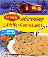 Maggi Meisterklasse 3-Pfeffer-Cremesuppe