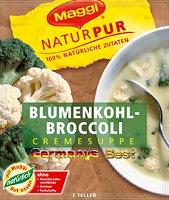 Maggi NaturPur Blumenkohl-Broccoli-Creme Suppe