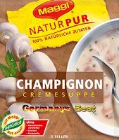 Maggi NaturPur Champignon-Creme Suppe