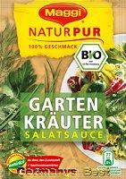 Maggi Natur Pur Salatsauce Garten Kräuter, 3 bags