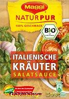 Maggi Natur Pur Salatsauce Italienische Kräuter, 3 bags