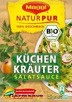Maggi Natur Pur Salatsauce Küchen Kräuter, 3 bags