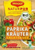 Maggi Natur Pur Salatsauce Paprika Kräuter, 3 bags