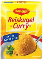 Maggi Reiskugel Curry
