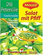 Maggi Salat mit Pfiff Dill Petersilie