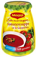 Maggi Sommersuppe Tomatensuppe à la Gazpacho