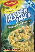 Maggi Tassensnack Nudeln in Broccoli-Sauce