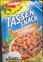 Maggi Tassensnack Nudeln in Tomaten-Mozzarella-Sauce