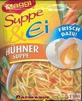 Maggi Suppe & Ei Huehnersuppe