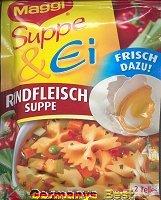 Maggi Suppe & Ei Rindfleischsuppe