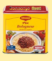 Maggi Fix Bolognese für 25 Portionen