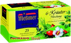 Messmer6 Kräuter Tee Mischung, 25 bags
