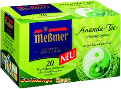 Messmer Ananda Tea, 20 bags