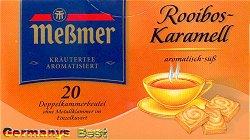 Messmer Rooibos-Karamell Tee, 20 Beutel