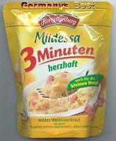 Mildessa 3 Minuten Weinsauerkraut -herzhaft-