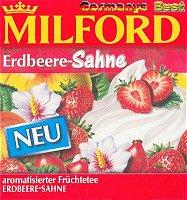 Milford Tee Erdbeere-Sahne, 40 Beutel