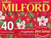 Milford Tee Hagebutte, 40 Beutel