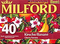 Milford Tee Kirsche-Banane, 40 Beutel