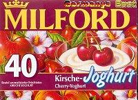 Milford Tee Kirsche-Joghurt, 40 Beutel