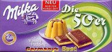 Milka Die 50er -Vanille Pudding-