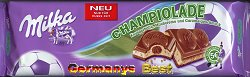 Milka Champiolade -Only for a short time-