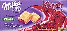Milka Cherry Yoghurt